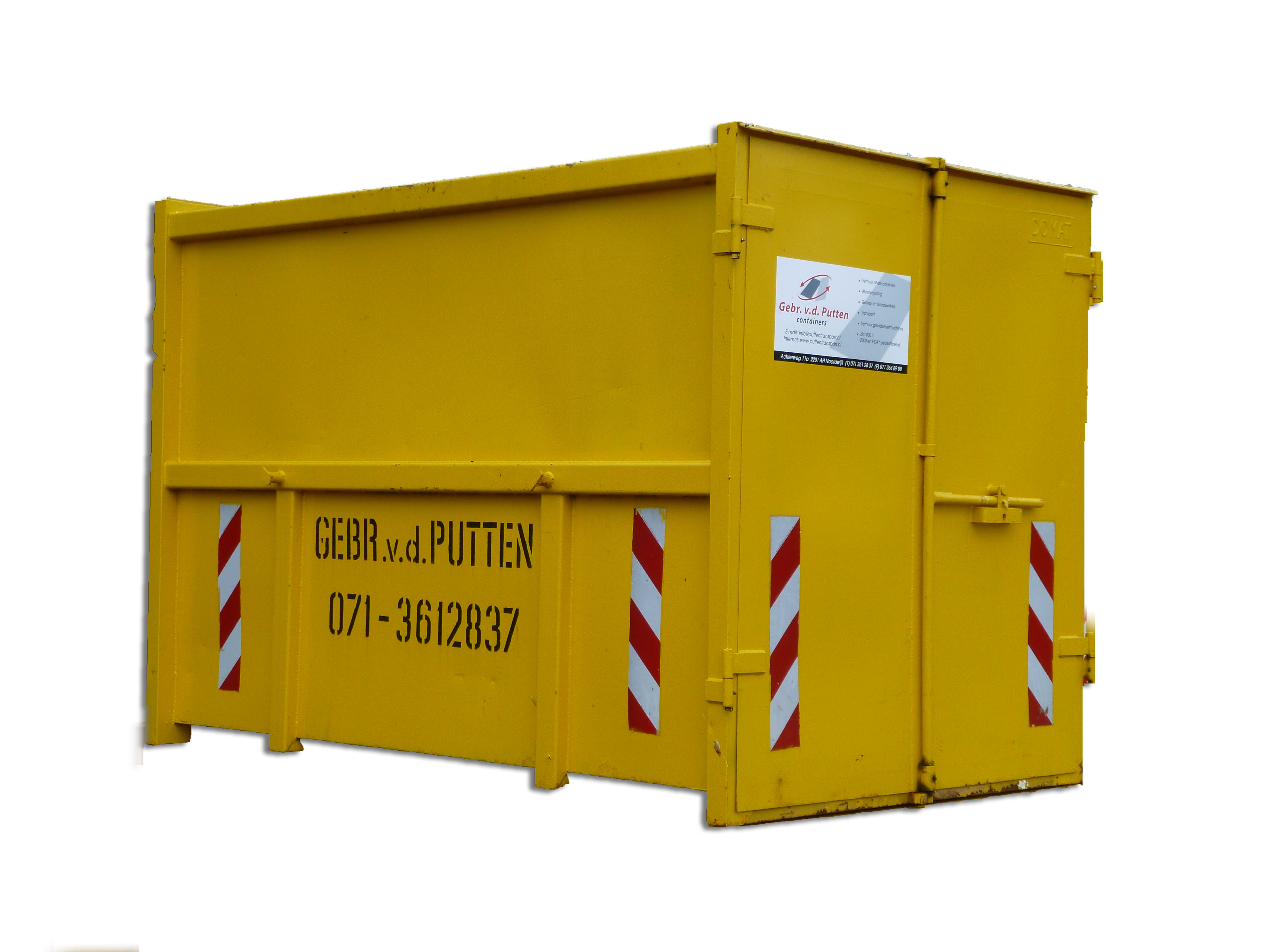 3 meter magazijncontainer